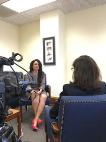Councilwoman Nury Martinez interviewed by Natalie M. Fousekis, Councilwoman Martinez' office, Los Angeles City Hall, January 2016.