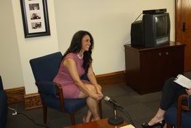 Councilwoman Nury Martinez interviewed by Natalie M. Fousekis, Councilwoman Martinez' office, Los Angeles City Hall, February 2016.