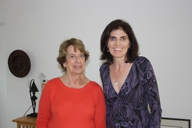 Ruth Galanter and interviewer, Dr. Natalie Fousekis, 2016.