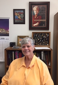 Jane Templin at the International Brotherhood of Electrical Workers, 2016.