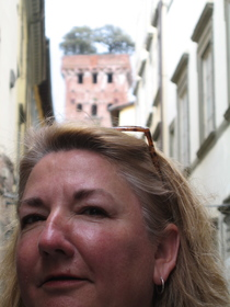 Sharon Gilpin in Europe, 2017.